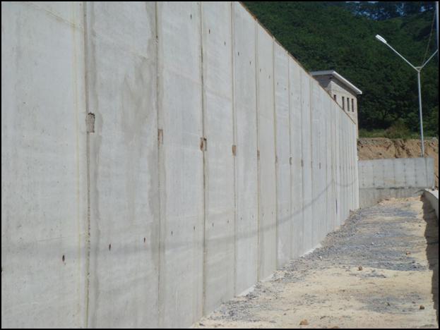 Betonnaja podpornaja stenka
