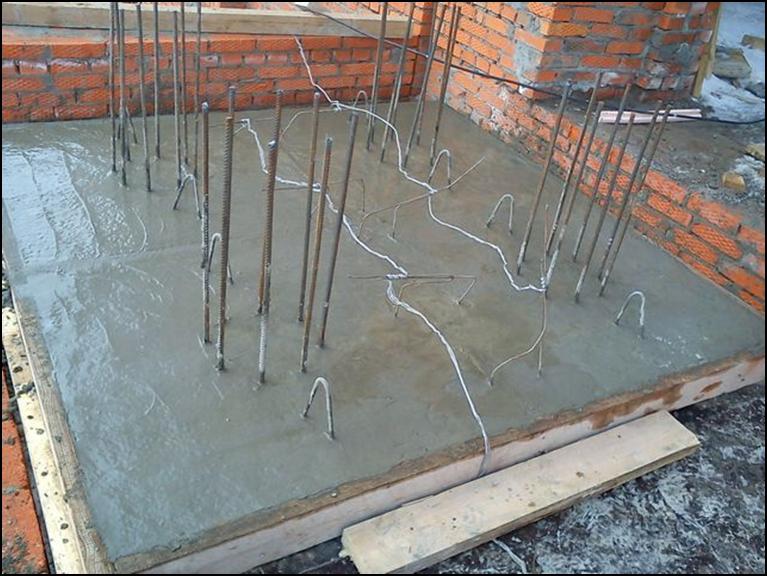 jelektropodogrev betona v zimnij period