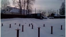 svajnyj fundament zimoj